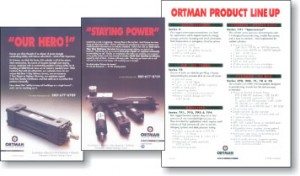 Ortman Fluid Power Ad Combination by Mountain Stream Group