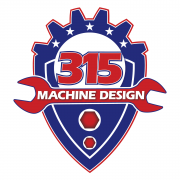 315 Machine Design Logo